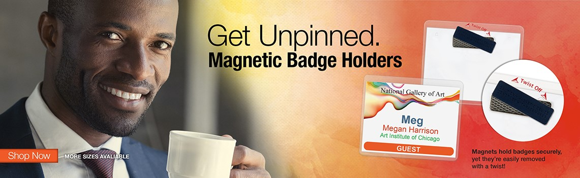 Magnetic Badges