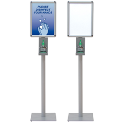 Deluxe Hand Sanitizer Stands