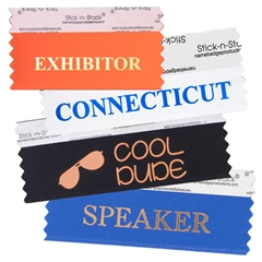 Ribbons - Name Badge Productions