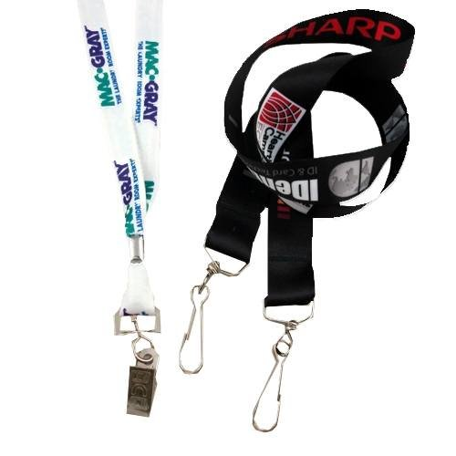 Multi-Color Imprinted Lanyard