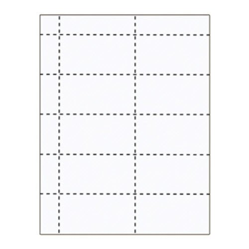 "3 3/4"" x 2"" Standard 2 Pocket Inserts - 500 pack"