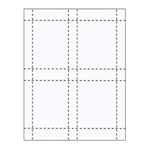 "3"" x 4"" Easy Access Inserts - 500 pack"