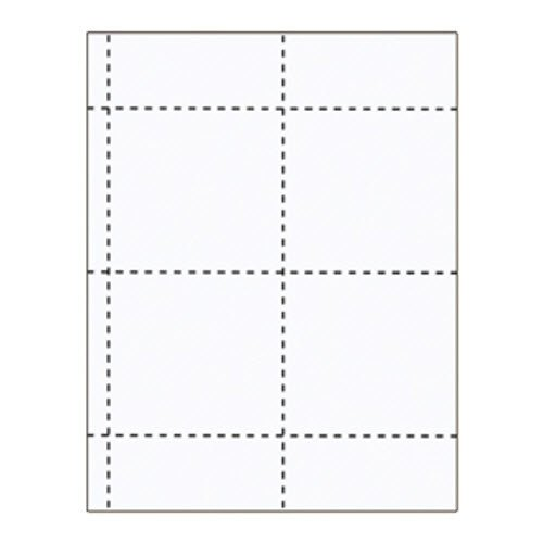 "4"" x 4"" Zippered Inserts - 500 pack"