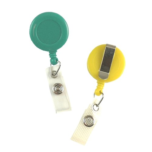 Value Badge Reel with Belt Clip - All Sales Final