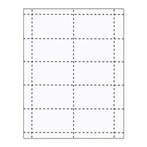 "3 1/2"" x 2"" Business Card Inserts - 100 pack"