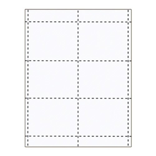 "4"" x 3"" Name Badge Inserts - 100 Pack"
