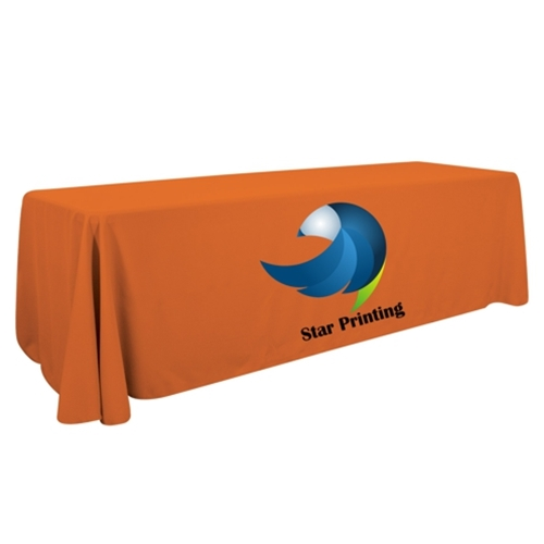 8' Table Cover -Dye Sub Imprint - 1 Location