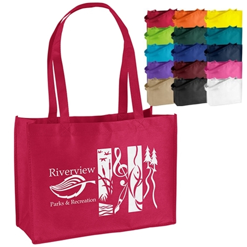 Medium 1 or 2 Color Imprinted Tote