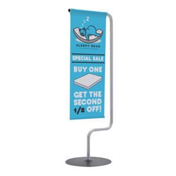 Monopode Tabletop Banner
