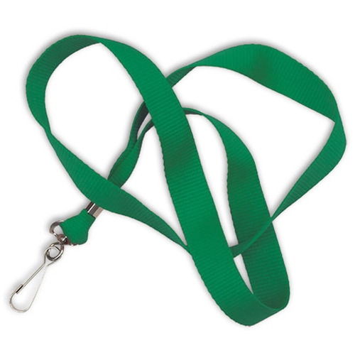 "5/8"" Cotton Lanyard - Whistle Clip"