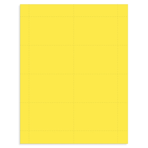 "3 1/2"" x 2 3/16"" - Color ID Inserts - 500 pack"