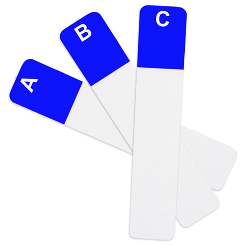 "1 1/2"" x 7 5/8"" Premier Alpha Name Badge Dividers"